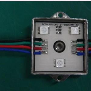 深圳LED5050贴片防水模组四灯5050贴片防水模组广告装饰LED发光模组
