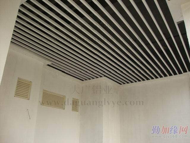 铝方通工程 铝方通效果图 铝方通厂家 铝方通生产 铝方通吊顶图片
