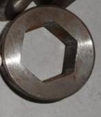 光亮六角钢管  精密六角钢管 无锡六角钢管厂