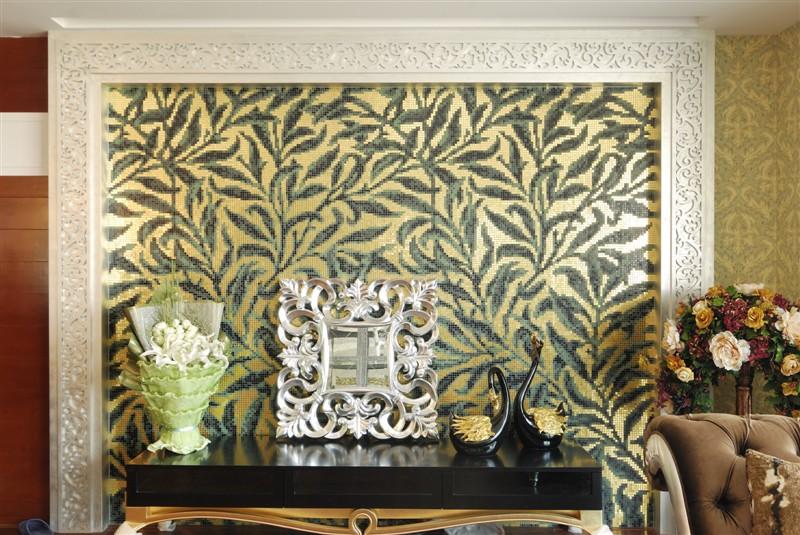 哪里有装饰酒店大厅墙面马赛克背景图生产_哪