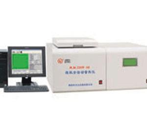 煤焦分析设备,双控量热仪,电厂大卡化验仪器