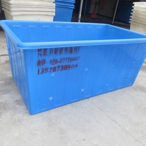 供应东莞纺织厂布匹存放周转桶,食品家用储存桶,方形塑料养殖桶