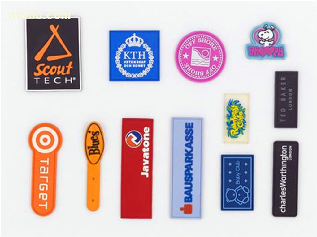 聚欧供应创意个性商标 T恤标 鞋标 胶章订做_聚