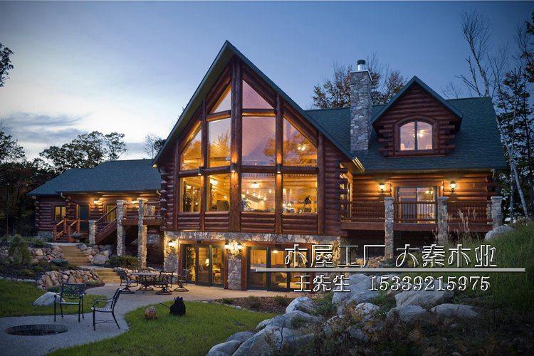 木结构,欧美木屋,别墅木屋图片