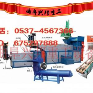塑料颗粒加工设备_垃圾袋回收造粒机生产线