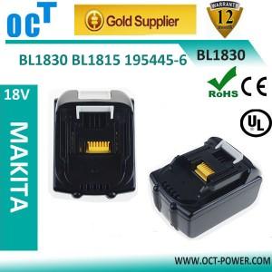 牧田BL1830、BL1840 18v锂离子电动工具电池组