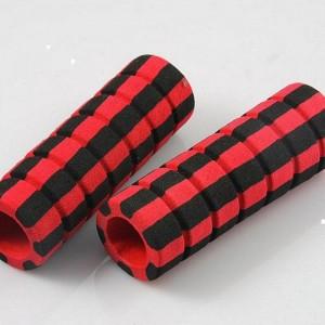 握力器橡塑手把套 双色磨砂沟槽把套厂家 汽车耐油保温泡棉管