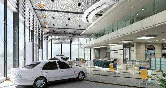 4S店设计装修│专业汽车美容设计│成都课平面设计公开图片