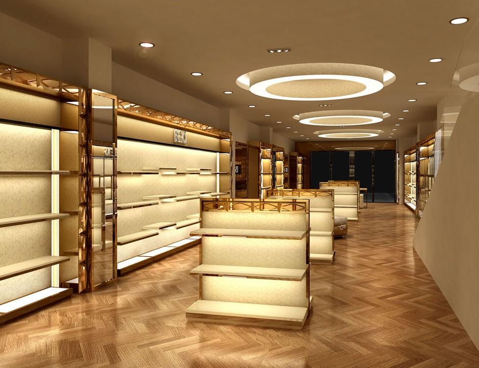成都鞋包店铺设计装修,鞋包专卖店装修设计|成都精雕国际装饰