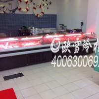 东莞市肥牛供应柜敞开式保鲜排骨餐厅展示食材椰子怎么炖烤肉图片