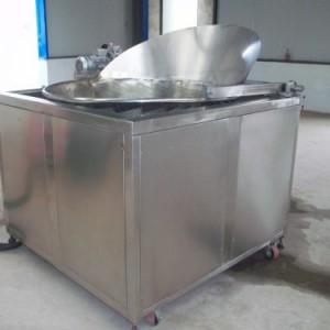 供应不锈钢全自动膨化食品油炸机 休闲食品加工设备