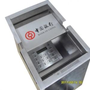 银行柜台专用智能通道槽 带密码键盘 对讲机 评价器 显示屏功