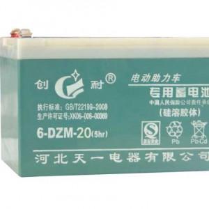 南昌厂家供应48v20电动助力三轮车电池创耐电池12v20