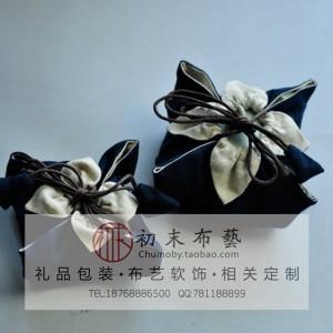 西湖龙井茶叶精品高档包装袋帆布袋防潮袋定制