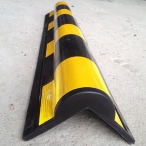 汕尾橡胶护墙角 汕尾圆形护墙角 停车场反光胶条