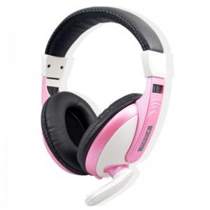 笔记本带麦耳机 头戴式 手机线控耳机通用外贸礼品耳机批发