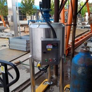 食品.化工.设备 电动 液体 不锈钢搅拌罐 湖州加热搅拌桶