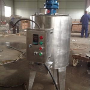 吉林不锈钢化工搅拌桶 厂家  洗洁精乳化罐设备 化妆品搅拌罐