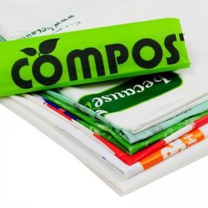 苏州力泓生物可降解垃圾袋环保塑料袋 可堆肥 厂家批发定制