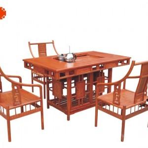 罗马茶桌东阳鲁创厂家直销老红木红木家具价格、成套家具批发、古