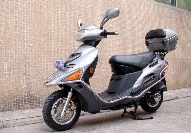 豪爵hs125t海王星踏板摩托车批发报价图片 海王星铃木