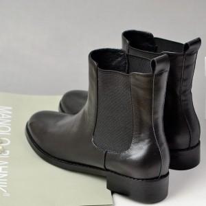 鞋厂供应新款各种靴子Boots加工生产定制外贸高档时装真皮中