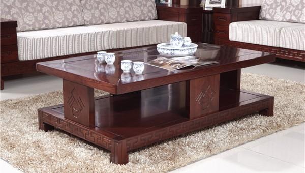 实木家具家具实木家具茶几厂优质黄菠萝蜜茶红丰茶几图片