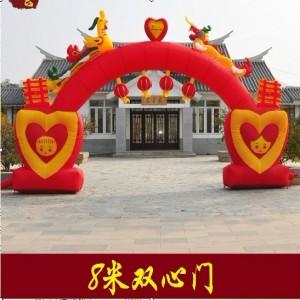 北京2016火爆熊出没大型充气玩具 拱门气模价格 充气城堡