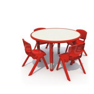 儿童玩具、木质玩具、幼儿园桌椅、丽莎圆桌24001