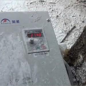 奥圣防尘防潮变频器在石材加工机械上的应用