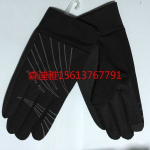 河北手套厂家直销冬季大棉猪皮螺口PU男女式保暖手套