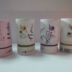 广州茶叶纸筒包装,芳村茶叶包装纸罐,广州花茶纸罐
