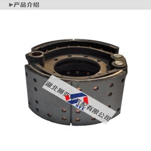 457制动器半圆 3502080-H1 东风商用车汽车配件