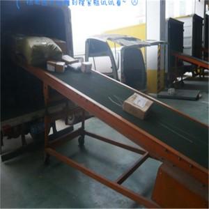 各种纸箱装车输送机包胶滚筒 高效皮带式运输机xy1