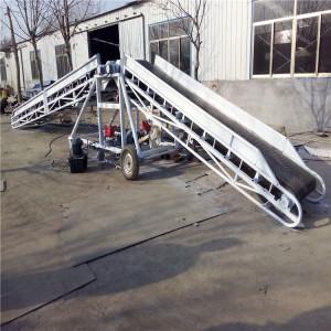 大米输送皮带机 批量加工工业用带式输送机械