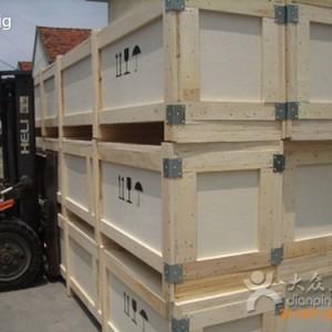 北京海淀可拆卸蝴蝶扣木箱包装厂