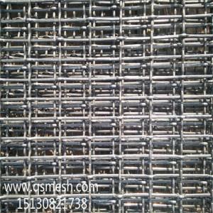 养猪用钢丝编织网轧花网畜牧养殖用金属网厂家