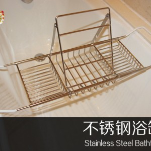 客房 伸缩浴缸置物架  可调节距浴缸架  浴缸架不锈钢 品牌