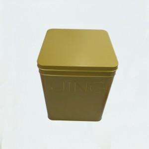 淮洋马口铁方型铁盒铁罐包装,可做茶叶、礼品、保健品、食品包装