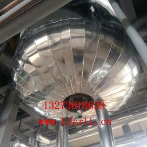 石油管道白铁皮保温工程设备保温施工队