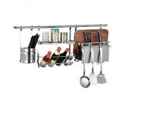 厨房置物架多功能收纳壁挂调料味罐厨具刀架厨卫挂件