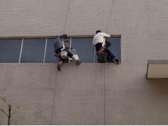 西安高空作业蜘蛛人维修外墙雨水管多年经验一站式服务
