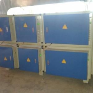 电子产品制造车间废气治理东莞紫科等离子UV光解净化设备