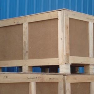 定做口罩机运输出口包装 木箱包装箱 大型真空木箱