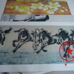 深圳供应麻布uv喷绘/油画布喷绘加工/无纺布喷图欢迎来图定制