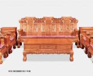 东阳红木家具花纹漂亮海强厂家供应