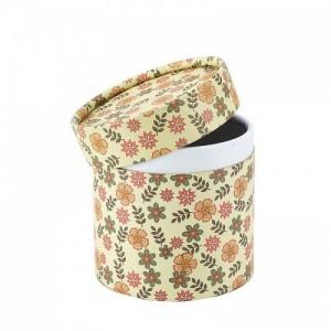 茶叶包装烫金定制化妆品圆筒盒印刷圆形纸筒