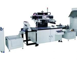 全自动uv丝印机/全自动uv丝网机/标签贴纸印刷机