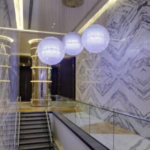 美式风格高级玻璃艺术灯饰