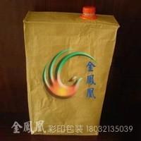 河北pe方底袋液体包装袋防伪包装袋涂膜彩印编织袋吨袋L金凤凰